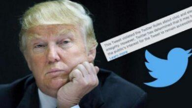 """""""تويتر"""" يعلن إغلاق حساب الرئيس الأمريكي دونالد ترامب بشكل دائم لهذا السبب!"""