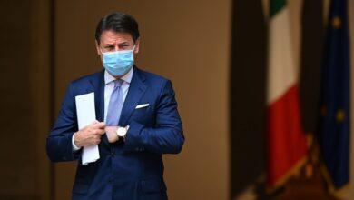 """""""كونتي"""" رئيس الحكومة الإيطالي يستقيل غذا الثلاثاء من رئاسة الحكومة"""