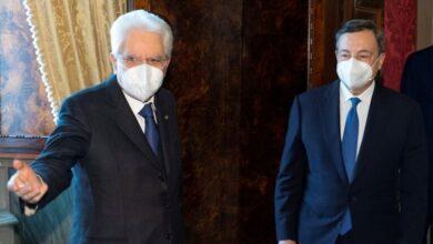 رئيس الجمهورية يطلب من ماريو دراغي تشكيل حكومة جديدة